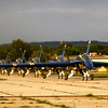 <b>Submitted By:</b> Paul J Nepote <b>From:</b> Traverse City <b>Description:</b> Blue Angels 2010 Arrive at Cherry Capitol Airport.