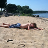 "<span style=""display:none"">Email: kbtwin11@yahoo.com</span> <b>Submitted By:</b> Katherine Brege <b>From:</b> Traverse City <b>Description:</b> Taken just east of West End beach on July 3rd. Aiden Griggs fell asleep just like that after a full day of CF fun!"