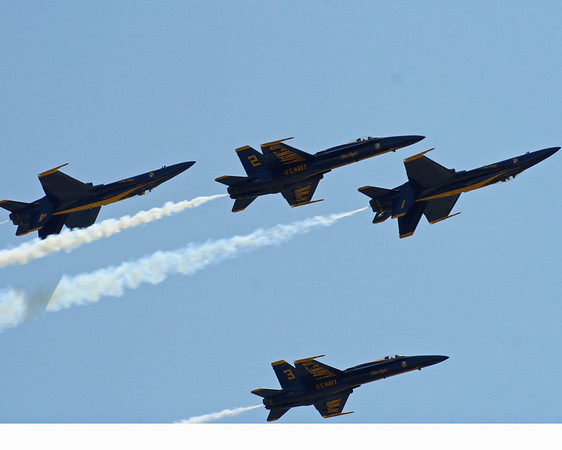 The Blue Angels 2008.<br />  <br /> Photographer:  Roberta Benedict<br /> Early Learning Daycare & Preschool<br /> Located between Interlochen & Grawn lights