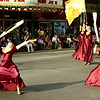 """<span style=""""display:none"""">Email: tiny.leviathan@gmail.com</span> <b>Submitted By:</b> Levi Gates <b>From:</b> Traverse City <b>Description:</b> A flag troupe performs in front of The State Theatre during the parade on July 7th, downtown Traverse City."""