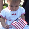 <b>Submitted By:</b> Laurie Goodrich OBrien <b>From:</b> Traverse City <b>Description:</b> This is a picture of my granddaughter, Lucy O'Brien at her first Cherry Festival Parade Thursday evening 7/8/10.  You might know her great uncle Bill O'Brien who is the Business Editor at the Record Eagle...