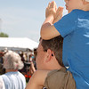 "<span style=""display:none"">Email: smelton40@yahoo.com</span> <b>Submitted By:</b> Susan Melton <b>From:</b> Beulah <b>Description:</b> Jeidus Deseranno from Grosse Pointe has the best seat, on dad Don's shoulders, applauding as the Grand Traverse Band Pow Wow begins during the Heritage Day Celebration 2011."