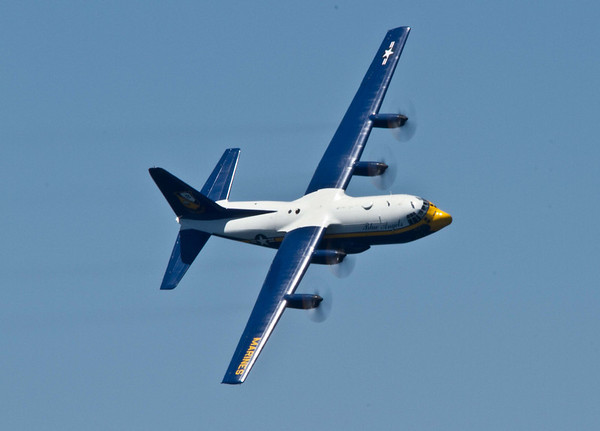 <b>Submitted By:</b> Peggy Zin <b>From:</b> Traverse City <b>Description:</b> Fat Albert taking a turn over the bay