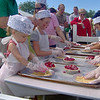 <b>Submitted By:</b> Kelly Stites <b>From:</b> Traverse City <b>Description:</b> Making a cherry pie with Grand Traverse Pie Company during the National Cherry Festival.
