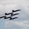 <b>Submitted By:</b> Roberta Benedict <b>From:</b> Grawn <b>Description:</b> Blue Angels flying during the 4th of July show in 2010.
