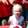 <b>Submitted By:</b> Kathryn Bandstra <b>From:</b> Traverse City, MI <b>Description:</b> My 4 year old great niece Josie Stites at the Kids Pie Eating Contest.