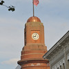 <b>Submitted By:</b> Ralph Epifanio <b>From:</b> Deland, Florida <b>Description:</b> (Used to be) Traverse City Bank clock; time running out on the 2011 Cherry Festival. Photo taken on July 9, 2011. Credit: Ralphotos.