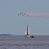 <b>Submitted By:</b> Peggy Zinn <b>From:</b> Traverse City <b>Description:</b> Airshow 2010 Blue Angels apperence