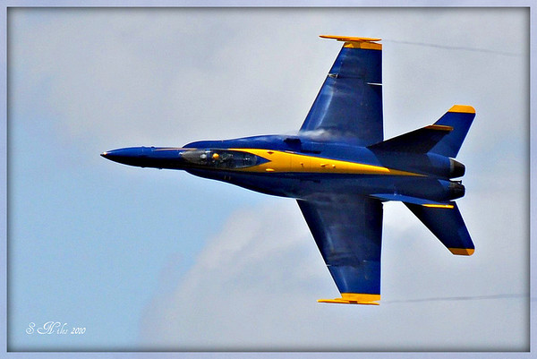 <b>Submitted By:</b> Susan Niles <b>From:</b> Traverse City, MI <b>Description:</b> The Blue Angels taken at the 4th of July air show 2010