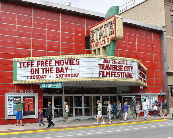 <b>Submitted By:</b> Deb Perry <b>From:</b> Traverse City <b>Description:</b> 2009 Traverse City Film Festival - State Theater