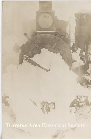 <b>Submitted By:</b> MOLLY CARROLL SHUGART <b>From:</b> TRAVERSE CITY <b>Description:</b> Train wreck in Bingham, taken by grandfather Oscar Shugart.