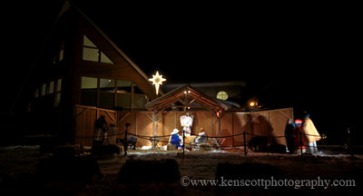 """<b>Submitted By:</b> Ken Scott <b>From:</b> Suttons Bay <b>Description:</b> One photo,  from 1700+ photos to make a  timelapsed glimpse of the live nativity presentation at the Bayview Westleyon Church in Traverse City, Michigan on 12-23-09. Two hours condensed into 3 minutes. The video clip is <a href=""""http://www.youtube.com/watch?v=QSgTAp6oN3g"""" target=""""_blank"""" rel=""""nofollow"""">here</a>."""