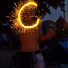<b>Submitted By:</b> Peggy Sue Zinn <b>From:</b> Traverse City <b>Description:</b> boy with sparkler