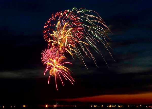 <b>Submitted By:</b> Peggy Sue Zinn <b>From:</b> Traverse City <b>Description:</b> Cherry Festival Fireworks 2010