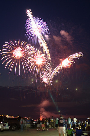"""<span style=""""display:none"""">Email: tiny.leviathan@gmail.com</span> <b>Submitted By:</b> Levi Gates <b>From:</b> Traverse City <b>Description:</b> Fireworks light up the sky over the Grand Traverse Bay near Clinch Marina on the 4th of July"""