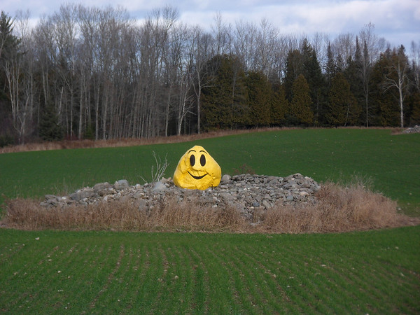 <b>Submitted By:</b> Patrick Smolinski <b>From:</b> Rapid City <b>Description:</b> The Smiling Rock in Belknap, Michigan