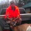 <b>Submitted By:</b> BRYAN BELANGER <b>From:</b> SUTTONS BAY <b>Description:</b> 8 POINT SHOT IN LEELANAU COUNTY 8 AM OPENING DAY OF RIFLE SEASON
