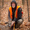 <b>Submitted By:</b> Peggy Sue Zinn <b>From:</b> Traverse City <b>Description:</b> Tim Decker, opening morning of Deer Season