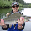 <b>Submitted By:</b> TRISHA HANSEN <b>From:</b> TRAVERSE CITY <b>Description:</b> SALMON CAUGHT IN ALASKA LAST SUMMER