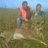 <b>Submitted By:</b> Carly Quinn <b>From:</b> Ada, Mi <b>Description:</b> My first buck was shot in Grand Traverse county on November 21. He was shot from approx. 400 yds, through the lungs. He was a nine point buck weighing over 200 lbs.
