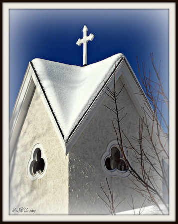 <b>Submitted By:</b> Susan Niles <b>From:</b> Traverse City, MI <b>Description:</b> Little Church tower in Traverse City