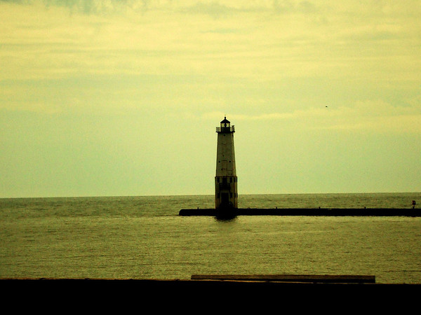 <b>Submitted By:</b> Caitlyn Neuman <b>From:</b> Traverse City <b>Description:</b> 2009 Frankfort lighthouse