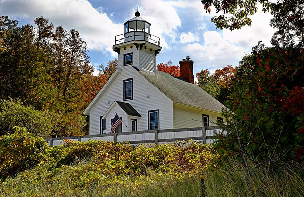 Old Mission Point Lighthouse in HDR<br /> <br /> Photographer's Name: Steve Nowakowski<br /> Photographer's City and State: Lambertville, MI