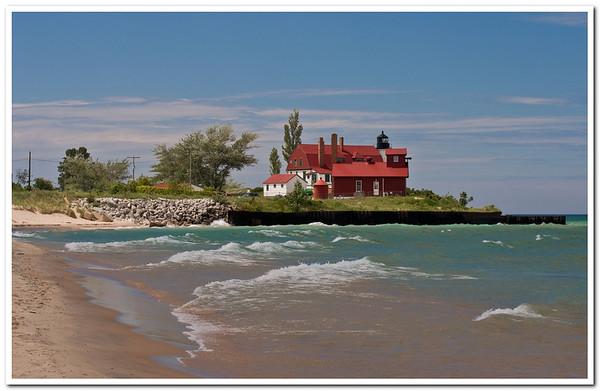 Point Betsie Lighthouse<br /> <br /> Photographer's Name: Steve  Nowakowski<br /> Photographer's City and State: Lambertville, MI