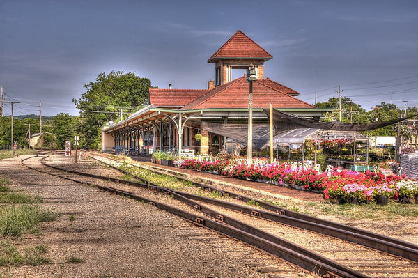 Traverse City Train Station in HDR<br /> <br /> Photographer's Name: Steve Nowakowski<br /> Photographer's City and State: Lambertville, MI