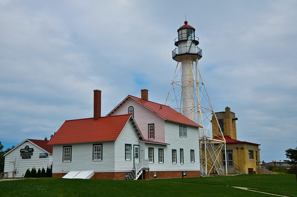 Whitefish Point Lighthouse off Lake Superior in the UP of Michigan<br /> <br /> Photographer's Name: Steve Nowakowski<br /> Photographer's City and State: Lambertville, MI