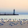 <b>Submitted By:</b> Steve Nowakowski <b>From:</b> Lambertville, MI. <b>Description:</b> Manistee Pier Light in the late afternoon in summer of 2011.