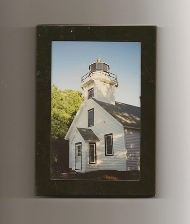 <b>Submitted By:</b>  Jim Young <b>From:</b> Bisbee, AZ  85603 <b>Description:</b>    Old Mission lighthouse taken in the late 80'son my last visit that beautiful part of the country. Miss it!