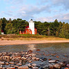 40-Mile Point Lighthouse on a calm summer Day<br /> <br /> Photographer's Name: Steve Nowakowski<br /> Photographer's City and State: Lambertville, MI