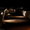 <b>Submitted By:</b> Susan Niles <b>From:</b> Traverse City, MI <b>Description:</b> Photo taken of the marina walkway at night at Clinch Park, Traverse City, MI