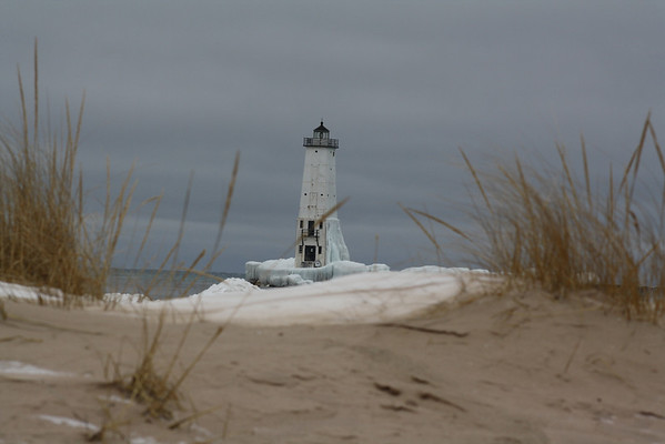 Lighthouse in Frankfort.<br /> <br /> Photographer's Name: Michell Clishe<br /> Photographer's City and State: Traverse City, MI