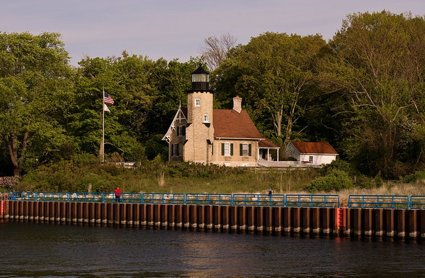 White River Light Station on a calm summer day<br /> <br /> Photographer's Name: Steve Nowakowski<br /> Photographer's City and State: Lambertville, MI