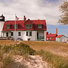 Point Betsie Lighthouse on a calm summer day<br /> <br /> Photographer's Name: Steve Nowakowski<br /> Photographer's City and State: Lambertville, MI
