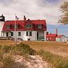 Point Betsie Lighthouse on a calm summer day<br /> <br /> Photographer's Name: Steve Nowakowski<br /> Photographer's City and State: Lambertville, MI