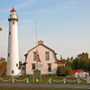 New Presque Isle Lighthouse on a calm summer day<br /> <br /> Photographer's Name: Steve Nowakowski<br /> Photographer's City and State: Lambertville, MI
