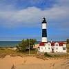 Big Sable Point Lighthouse on a calm summer day<br /> <br /> Photographer's Name: Steve Nowakowski<br /> Photographer's City and State: Lambertville, MI