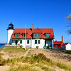 <b>Submitted By:</b> Steve Nowakowski <b>From:</b> Lambertville, MI. <b>Description:</b> Point Betsie Lighthouse on a calm fall day in 2010 sitting on the shoreline of Lake Michigan. Point Betsie is located just north of Frankfort, MI. across from Crystal Lake.