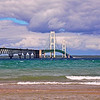 Clouds over the Mackinac Bridge<br /> <br /> Photographer's Name: Steve Nowakowski<br /> Photographer's City and State: Lambertville, MI