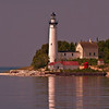 South Manitou Island Lighthouse on a calm summer day<br /> <br /> Photographer's Name: Steve Nowakowski<br /> Photographer's City and State: Lambertville, MI