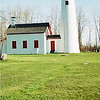 <b>Submitted By:</b> Ken Tennis <b>From:</b> Hudson <b>Description:</b> Sturgeon Point Lighthouse in May.