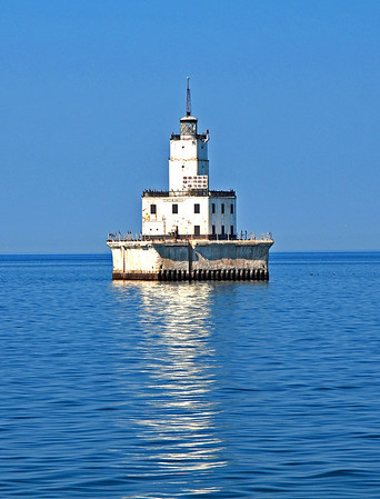<b>Submitted By:</b> Steve Nowakowski <b>From:</b> Lambertville, MI. <b>Description:</b> North Manitou Shoal Light taken from the ferry boat to South Manitou Island.