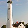New Presque Isle Lighthouse on a calm summer day<br /> <br /> Photographer's Name: Steve Nowakowski<br /> Photographer's City and State: Lambertville, MI