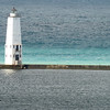 <b>Submitted By:</b> Carol Robinson <b>From:</b> Traverse City <b>Description:</b> Frankfort Lighthouse, Fall