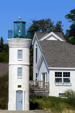 <b>Submitted By:</b> Sherry Good <b>From:</b> Interlochen Michigan <b>Description:</b> Lighthouse @ Empire Beach in August 2012.