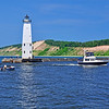 <b>Submitted By:</b> Steve Nowakowski <b>From:</b> Lambertville, MI. <b>Description:</b> Frankfort Pier Light taken in the summer of 2011.
