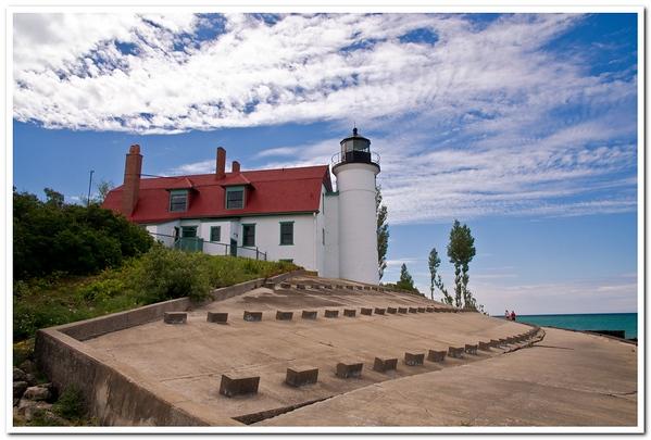 Point Betsie Lighthouse in the summer of 2013<br /> <br /> Photographer's Name: Steve Nowakowski<br /> Photographer's City and State: Lambertville, MI